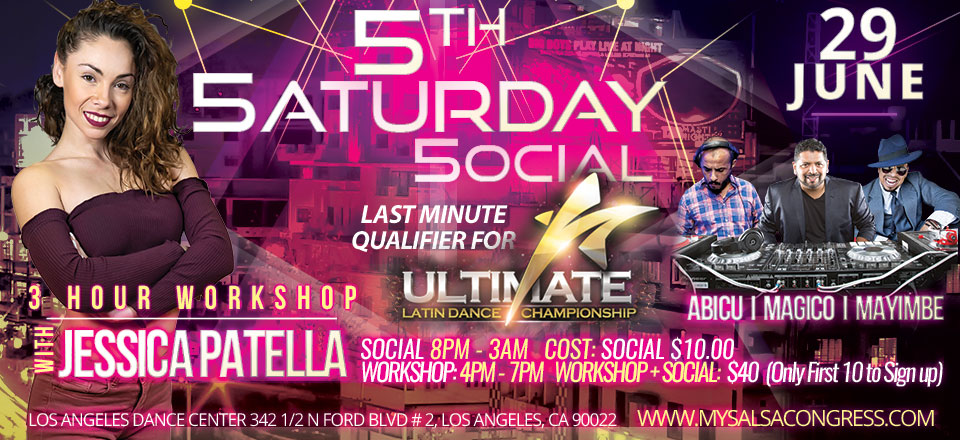 5th Saturday Social - June 29th - Los Angeles ULDC Qualifier